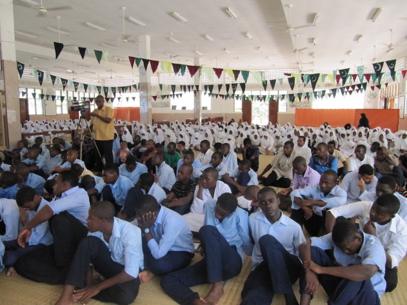 دبیرستان اسلامی ویپاس کیباها – تانزانیا