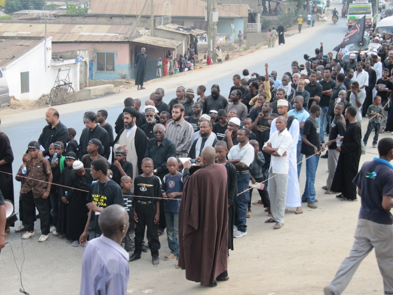راهپیمایی عاشورا شیعیان کیگوگو – تانزانیا