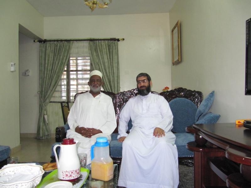 شیخ عبد الله ناصر یکی از محققین شیعه ممباسا – کنیا