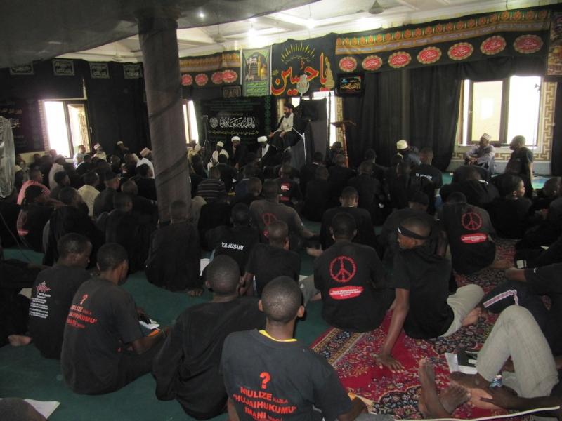 مراسم عزاداری حوزه علمیه کیگوگو – تانزانیا