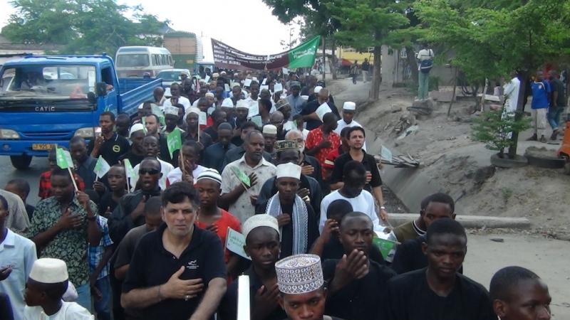راهپیمایی رحلت پیامبر ص کیگوگو – تانزانیا (۲)