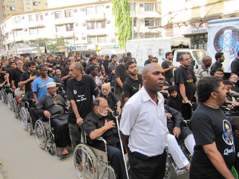 راهپیمایی عاشورا دارالسلام – تانزانیا
