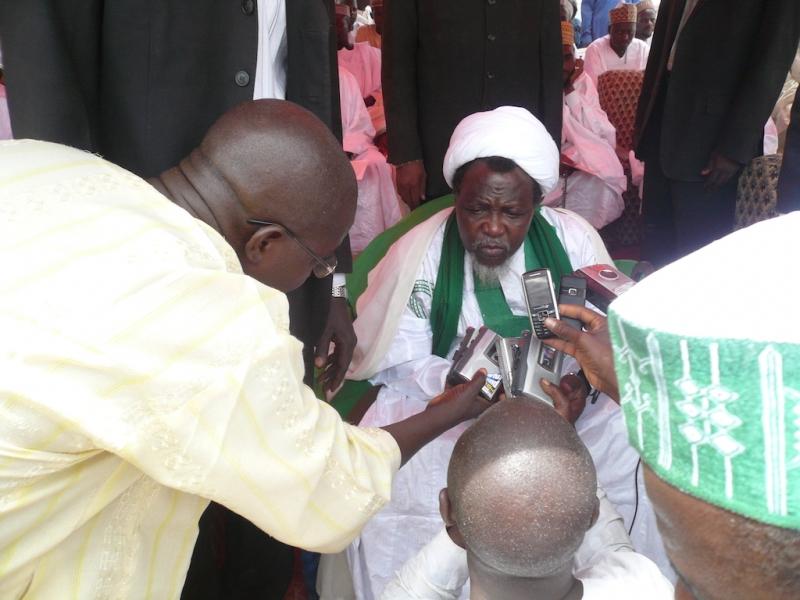 شیخ زاکزاکی رهبر شیعیان نیجریه