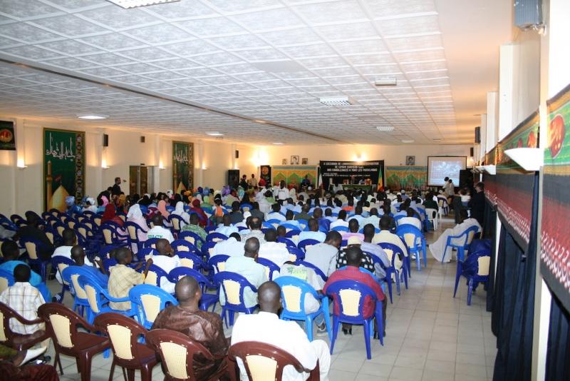 مراسم رحلت امام خمینی ره داکار – سنگال