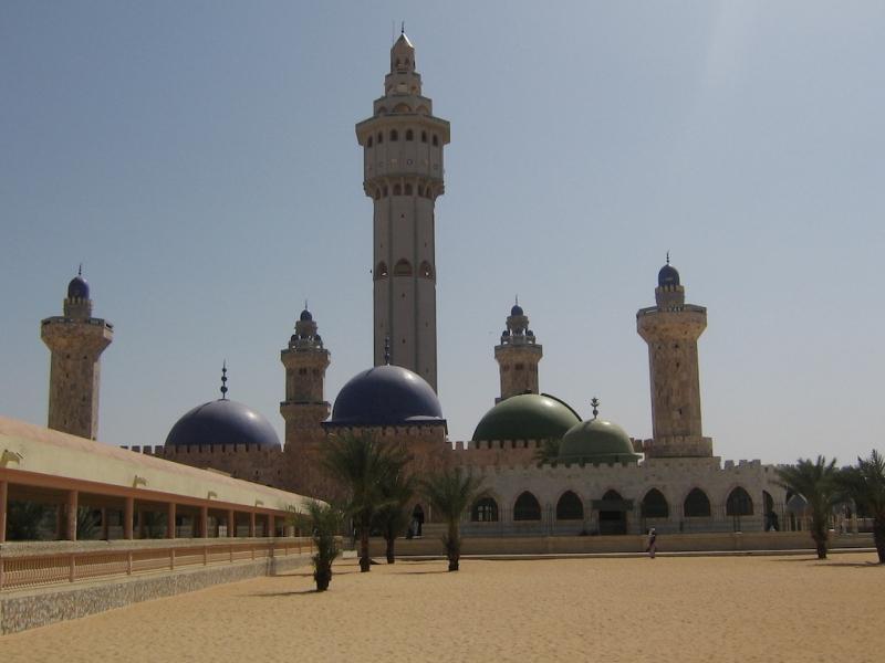 مسجد جامع شهر طوبی – سنگال