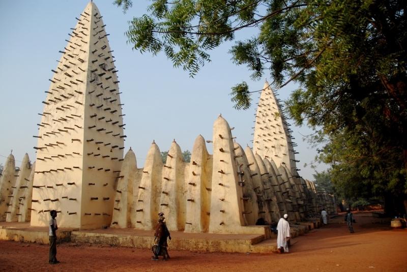 مسجد قدیمی واگادوگو – بورکینافاسو