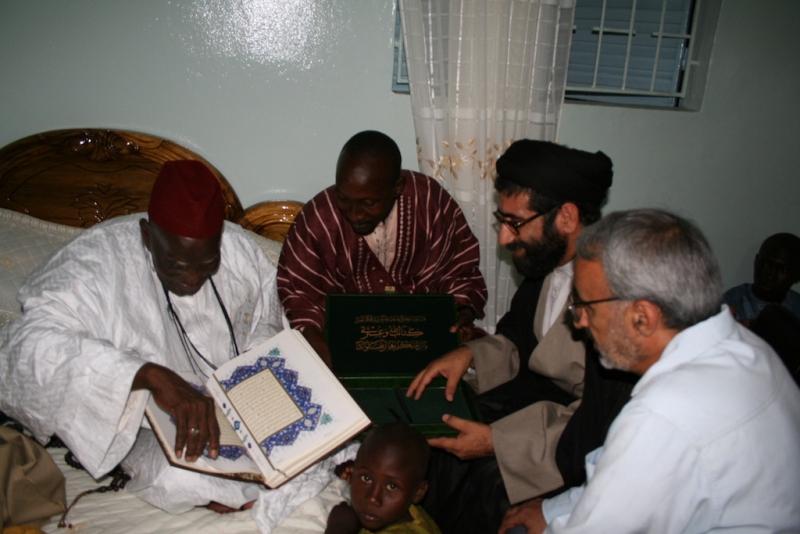ملاقات با شیخ بو کنت خلیفه طریقه قادریه انجاسان – سنگال